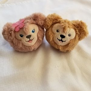 Disney Shellie May and Duffy Keychains